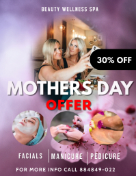 Mothers Day Offer Flyer (US Letter) template