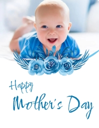 customizable design templates for mothers day event party flyer
