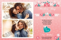 Mothers Day Photography Mini Session Label template