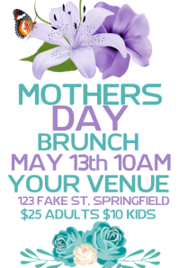 Mothers Day Poster