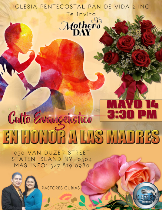 MOTHERS DAY Flyer (US Letter) template