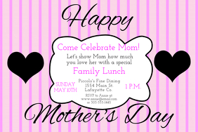 Customizable Design Templates for Mothers Day Invitation | PosterMyWall