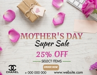 Mothers day sale Flyer (US-Letter) template