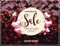 mothers day sale Volantino (US Letter) template