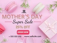 Mothers day sale Flyer (Letter pang-US) template
