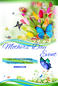 Mothers Day Sale Event Flyer