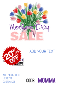 Mother's Day Sale Flyer Ad