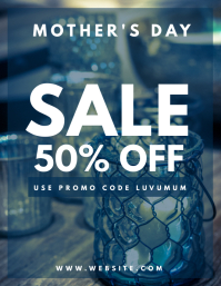 MOTHERS DAY SALE FLYER TEMPLATE