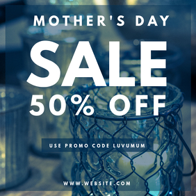 MOTHERS DAY SALE INSTAGRAM POST FLYER TEMPLATE