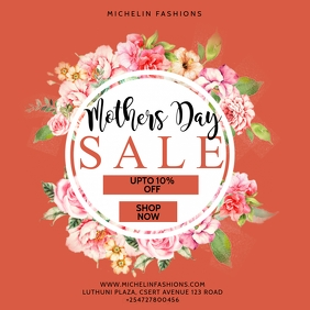 MOTHERS DAY SPECIAL SALE
