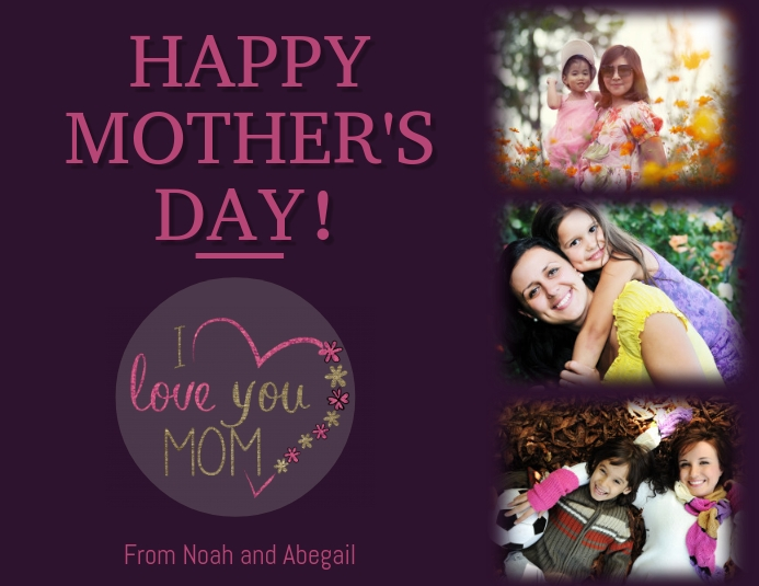Mothers day template Pamflet (VSA Brief)