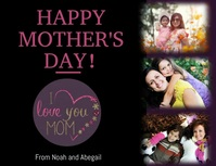 Mothers day template Flyer (format US Letter)