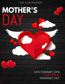 Mothers day templates,event templates