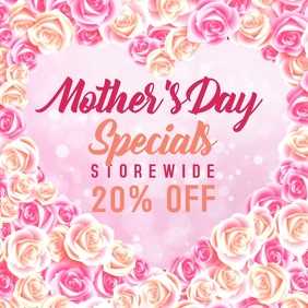 Mothers Day Video Instagram Digital Template