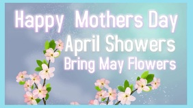 Mothers Day Video template Tampilan Digital (16:9)
