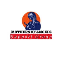 Mothers of angels support group Logótipo template