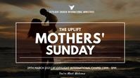 MOTHERS SUNDAY flyer Digitalt display (16:9) template