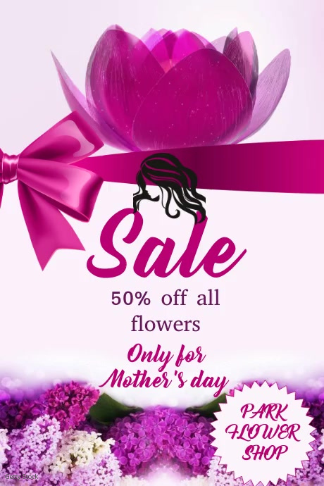 mothersday Poster template
