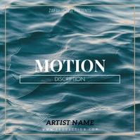 Motion album cover templatealbum cover