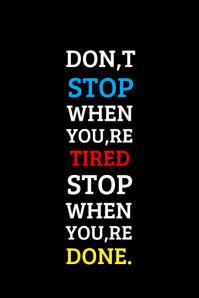 Motivational Dont Stop