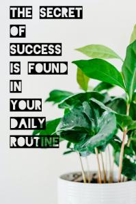Motivational quote Grafik Tumblr template