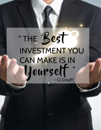 Motivational Quotes / Slogan Template