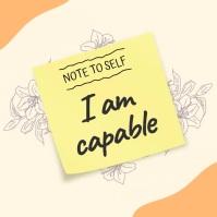 Motivational slideshow note