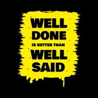 Motivational Well Done
