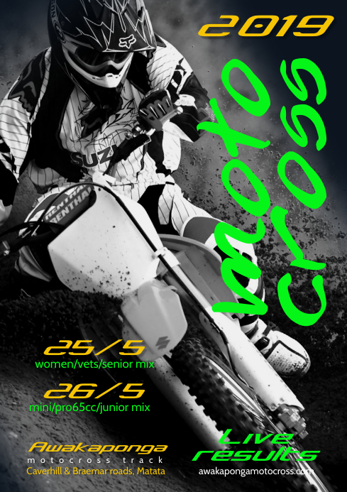 Motocross Event Flyer