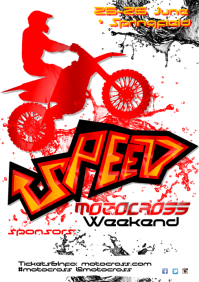 Motocross Weekend Poster