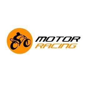 motorbike logo template