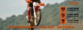 Motorcross Facebook Cover Photo