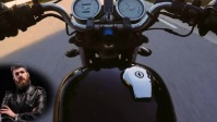 Motorcycle Видеообложка профиля Facebook (16:9) template