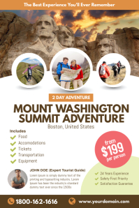 Mount Washington Summit Travel Poster
