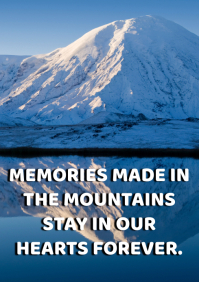 MOUNTAIN AND HEART QUOTE TEMPLATE A1