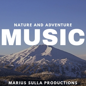 mountain background album cover