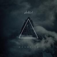 Mountain Clouds Dark CD Cover Template Portada de Álbum