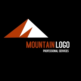 mountain red and white logo