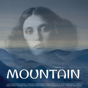 Mountain Soul Music Album Cover Template