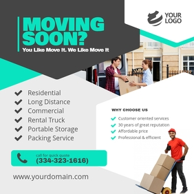 Movers and Packers Instagram Post