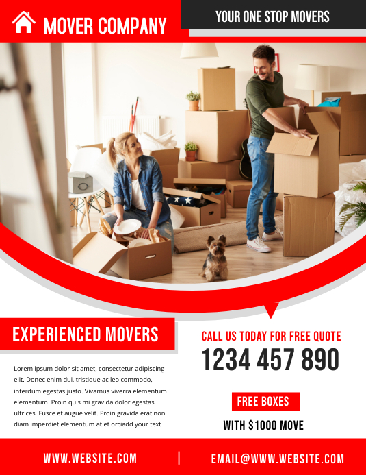 MOVERS COMPANY TEMPLATE