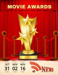 Movie Awards Flyer (US Letter) template