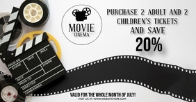 MOVIE CINEMA SPECIAL EVENT AD Template