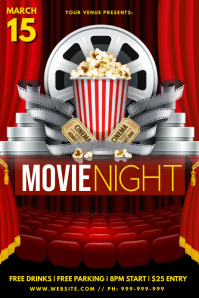 Movie Club Poster