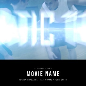 Movie Film Trailer Advertising Video template for instagram