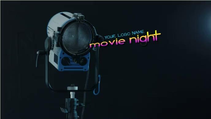 movie night and cinema Уменьшенное изображение YouTube template