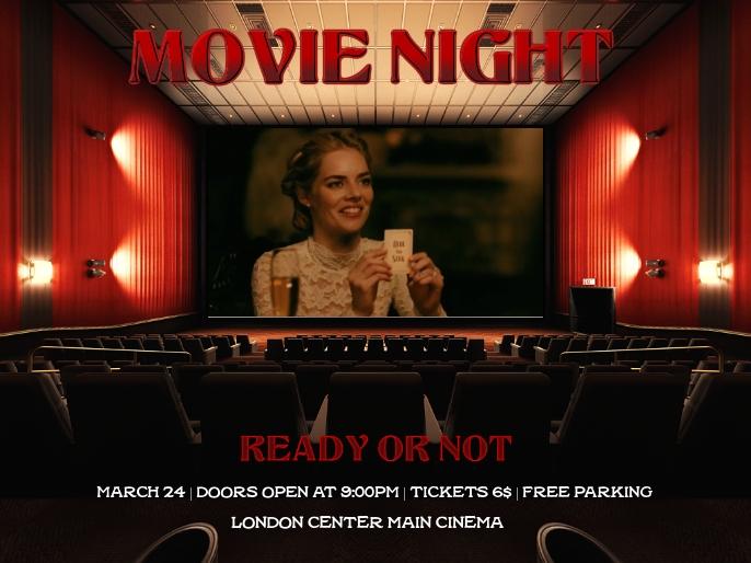 movie night Presentation template