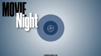 MOVIE NIGHT Digital Display (16:9) template
