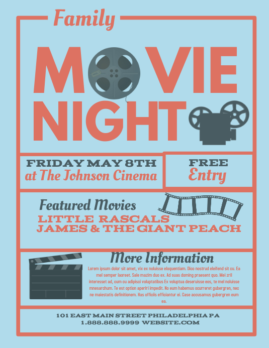 Free Movie Night Template from d1csarkz8obe9u.cloudfront.net