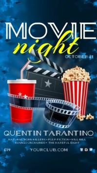 movie night invitation